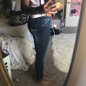 Jeans - Dark blue jeans